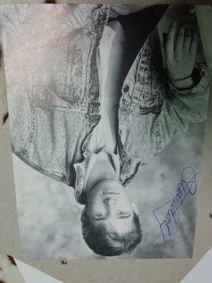 Fotografie cu autograf stefen hendry foto