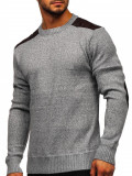 Pulover bărbați gri Bolf GFL9