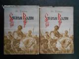ST. ZLOBIN - STEPAN RAZIN 2 volume (1954, editie cartonata)