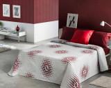 Cuvertură de pat deluxe Pierre Cardin Valence Burgund