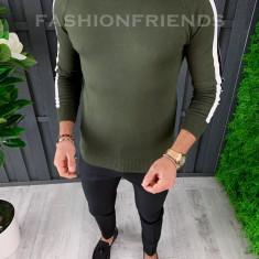 Bluza fashion barbati KAKI - COLECTIE NOUA A3645