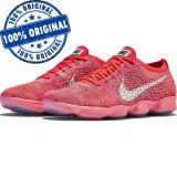 Pantofi sport Nike Flyknit Zoom Agility pentru femei - adidasi originali, 38.5, Roz, Textil