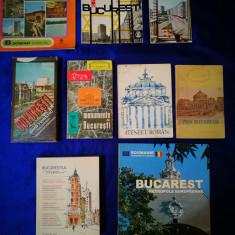 Lot carti despre BUCURESTI. Bucurestiul meu,Bucarest Metropole Europeenne