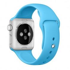 Curea pentru Apple Watch 42 mm Silicon iUni Blue