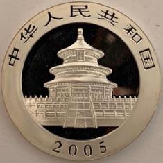 CHINA 10 YUAN 2005, AG. 999, 31.10 gr, KM#1589, PROOF, Asia, Argint