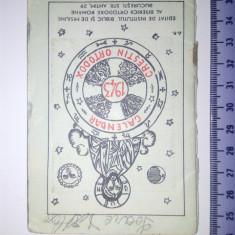 CALENDAR CRESTIN ORTODOX 1943