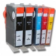 Tintenpatronen-set (2x bk, je 1x cmy) pentru hp 655-serie, ,