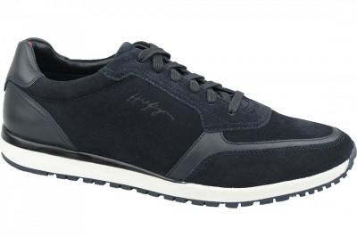 Pantofi sport Tommy Hilfiger Premium Suede Runner FM0FM02551-CKI pentru Barbati foto
