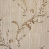 Cumpara ieftin Tapet clasic, model cu frunze, crem, auriu, verde, dormitor, living, Regalis, M7951