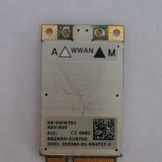 placuta 3g pentru laptop DELL model kr-0ww761