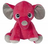 Cumpara ieftin Jucarie de plus Elefant roz, 23 cm, Noriel