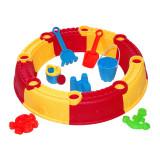 Cumpara ieftin Loc de joaca pentru nisip Beach Toys, 7 accesorii, tip castel