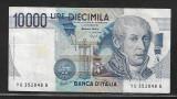 Italia   10000 Lire  1984-P112- VF