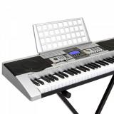 Orga electronica 805 + Suport X, 61 clape, Pianina digitala, Afisaj claviatura