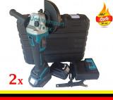 Cumpara ieftin Flex Polizor Unghiular 2 x Baterii / Acumulatori 24v / 5Ah