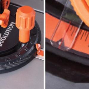 Fierastrau circular de masa Evolution RAGE 5 S EU EVO057 0003 1800 W 2500 rpm