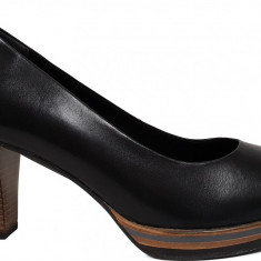 Pantofi dama cu platforma Marco Tozzi 2-2-22438-21 002 black antic