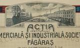 Actiune rara 1920 Banca comerciala si ind. Fagaras - actie - actiuni