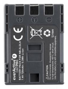 Acumulator camera compatibil LP-E6 7,4V 1600mAh Li-Ion Tip Canon EverActive CamPRO