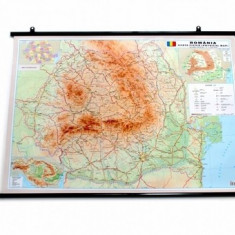 Harta Romania 50x70 cm