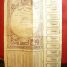 Actiuni - Titlu de Renta 4% de 1000 lei Regatul Romaniei 1941