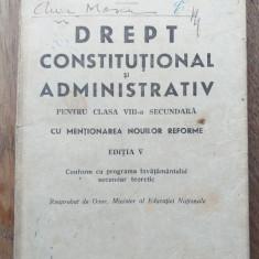 DREPT CONSTITUTIONAL SI ADMINISTRATIV , 1940 / REGALITATEA...