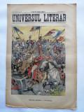 Ziarul Universul Literar ,9 Maiu 1911 , Regele Carol I , cromolitografie