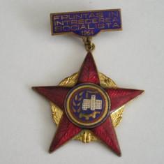 BIC - 70 - COMUNISTA - INSCRIPTIA FRUNTAS IN INTRECEREA SOCIALISTA - ANUL 1964