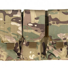 Portincarcator Triplu M4/AK Multicamo [ACM]
