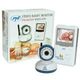 Resigilat : Video Baby Monitor PNI B2500 ecran 2.4 inch wireless