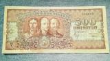 500 Lei 1949 Romania / Horia, Closca si Crisan