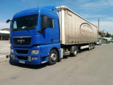 Ansamblu cap tractor MAN TGA 18 440 Euro 5 Semiremorca KRONE SD