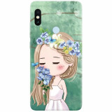 Husa silicon pentru Xiaomi Mi Max 3, Girl