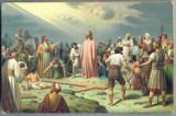 AX 398 CP VECHE -RELIGIOASA - ISUS PE GOLGOTHA(GOLGATHA)