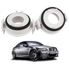 Set 2 adaptoare bec xenon H7 pentru BMW E46/318i/E65/E90