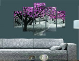 Tablou decorativ multicanvas Miracle, 5 Piese, Peisaj, 236MIR1933, Multicolor