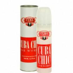 Apa de parfum Cuba Chic, 100 ml, pentru femei