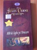800 Leghe  Pe Amazon ( Jules Verne )   - Desene Animate ,  Caseta Video VHS