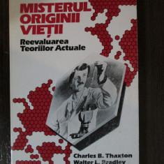 Misterul originii vietii-Charles B.Thaxton, Walter L.Bradley, Roger L.Olson