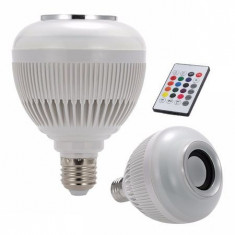 BEC LED E27 6W RGB+W SMART CU DIFUZOR 3W INCORPORAT + BLUETOOTH