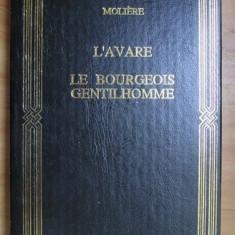 Moliere - L avare. Le bourgeois gentilhomme