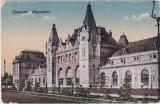 Timisoara Gara Domnita Elena Temesvar Palyaudvar CP necirculata ND(1920)