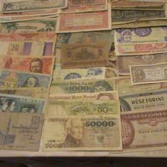 Colectie 150 bancnote diferite, Europa