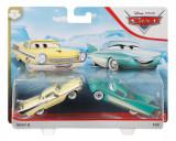 CARS3 SET 2 MASINUTE METALICE NICKY B SI FLO, Mattel