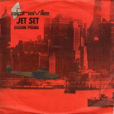 "Alphaville - Jet Set (1985, WEA) Disc vinil single 7"""