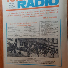revista tele-radio saptamana 4-10 iulie 1982