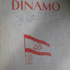 RAR, Dinamo Bucuresti, carte sport, album anii 50, 130 pagini, 35x25 cm