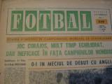 Revista Fotbal nr.210/3 iunie 1970-Romania-Anglia 0-1, la CM Mexico 70