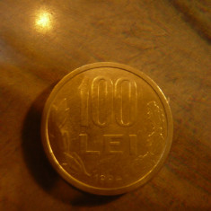 Moneda 100 lei 1994 , cal. F.Buna