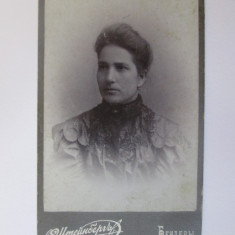 Fotografie pe carton 108 x 67 mm studio  foto Bender/Tighina-Basarabia cca.1900
